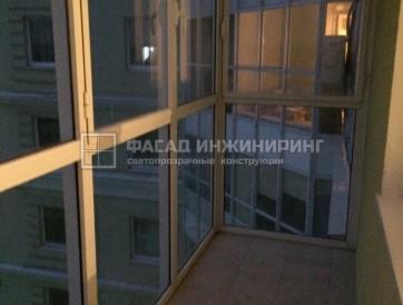 Стачек 92 к.3  Установка теплого остекления вместо холодного, панорамная дверь