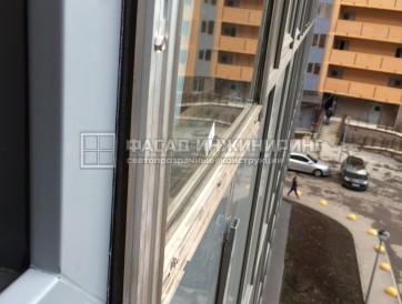 Произвели и смонтировали полукруглые окна из ПВХ