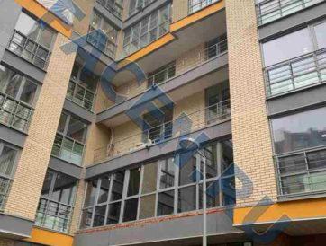 Проект остекления балкона в Москве